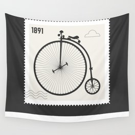 Penny Farthing 1891 Wall Tapestry