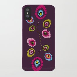 Folk Variation iPhone Case