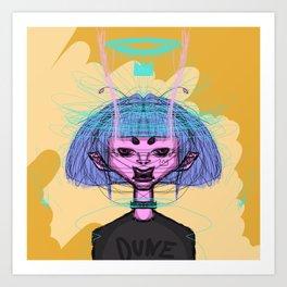 La belle Dune  / by endergalax Art Print