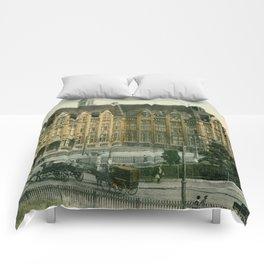 Vintage Liège Belgium governor's palace Comforters