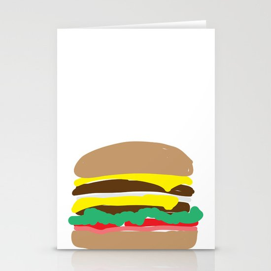 Double Double Stationery Cards