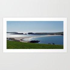 St Ninian's Isle Shetland Art Print