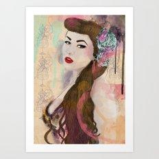 Good girls Art Print