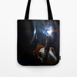 Cherry Weld Tote Bag