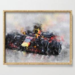 Max Verstappen Racing Serving Tray