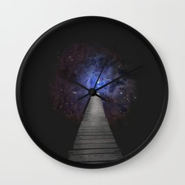 Don't Look Down Wall Clock