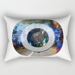 Turning Circles 3 Rectangular Pillow