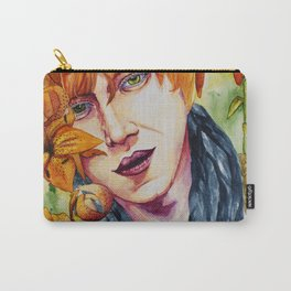 Tiger in the tiger lilies Carry-All Pouch
