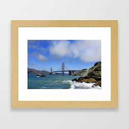 Can't Bridge This Distance Framed Art Print