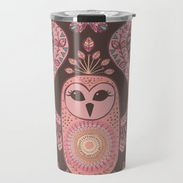 The Owl, The Moon & The Butterfly Travel Mug