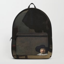 Rembrandt - A Lady and Gentleman in Black Backpack