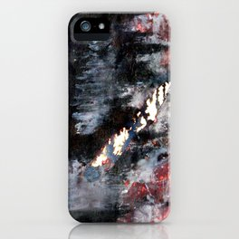 top heavy matchstick iPhone Case