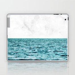 Ocean + Marble || #society6 #decor #buyart Laptop & iPad Skin