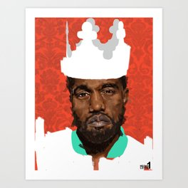 K. King Art Print