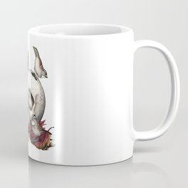 White-throated Sparrows Forage Amongst Human Remains Coffee Mug