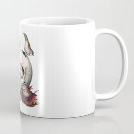 White-throated Sparrows Forage Amongst Human Remains Coffee Mug