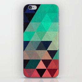 Triangular Composition VII iPhone Skin