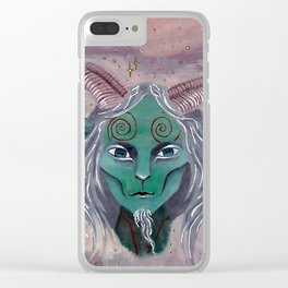 The Faun Clear iPhone Case
