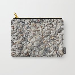 White Shells Carry-All Pouch