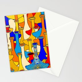 North African moroccan marrakesh hookah vases Stationery Cards