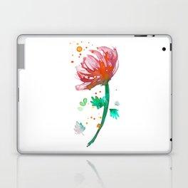 Warm Watercolour Fiordland Flower Laptop & iPad Skin
