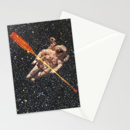 space oarsman Stationery Cards