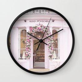 Peggy Porschen Wall Clock