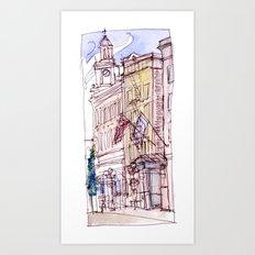 Mark Spencer Hotel Art Print