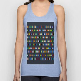 Color by Number: Pi Unisex Tank Top