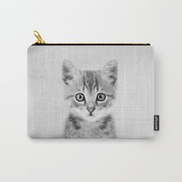 Kitten - Black & White Carry-All Pouch