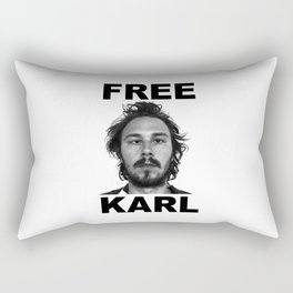 home of the free karl Rectangular Pillow