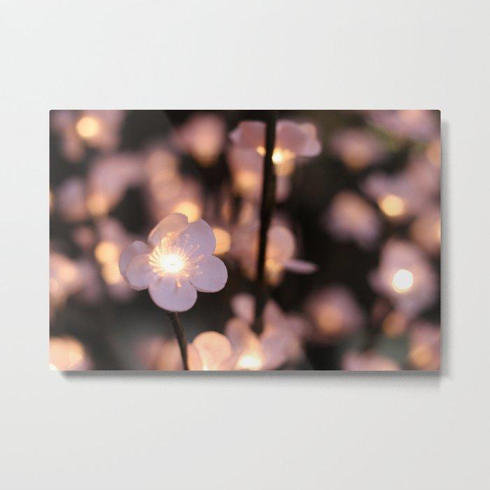Pink lights Metal Print