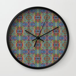 Rainy Sunday on High Ground Wall Clock