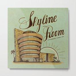 Skyline Room Metal Print