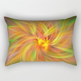 Iris Twirled Rectangular Pillow