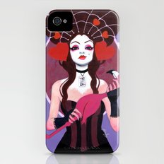 The Queen Wore Red iPhone (4, 4s) Slim Case