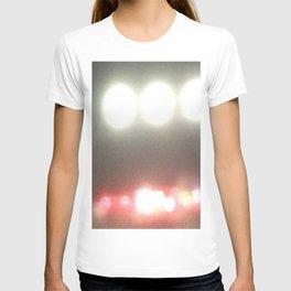 Abstracte Light Art in the Dark Version 39 T-shirt
