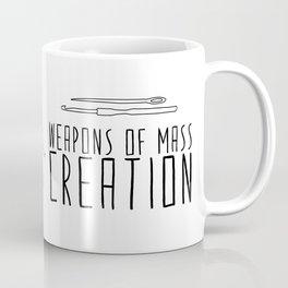 Weapons Of Mass Creation - Knitting Coffee Mug