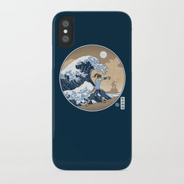 The Great Wave of Republic City iPhone Case