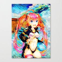 Colorful Sauna Canvas Print