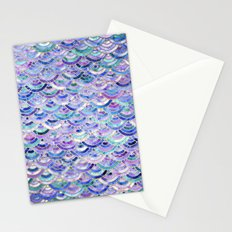 Marble Mosaic in Amethyst and Lapis Lazuli Stationery Cards