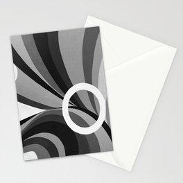 HARMONY BW NEGATIVE Stationery Cards
