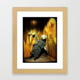 The Same Boy Framed Art Print