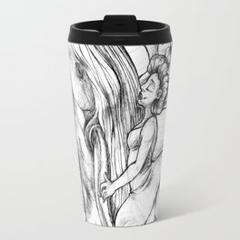 Dancing with Whales Travel Mug