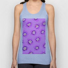 Lilac Mary Rose Unisex Tank Top