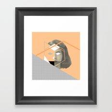 I don't give a fox Framed Art Print