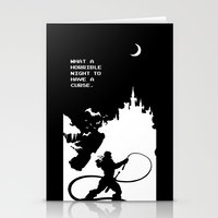 castlevania Stationery Cards featuring Castlevania by Darth Paul