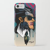 karl lagerfeld iPhone & iPod Cases featuring wolvereen  vs Karl Lagerfeld  by el brujo