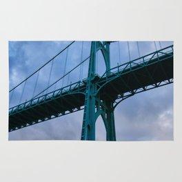 St. Johns Bridge, Gothic Tower Rug