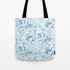 foxy circus Tote Bag